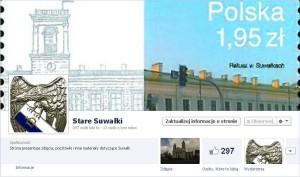 Facebook strona Stare Suwalki